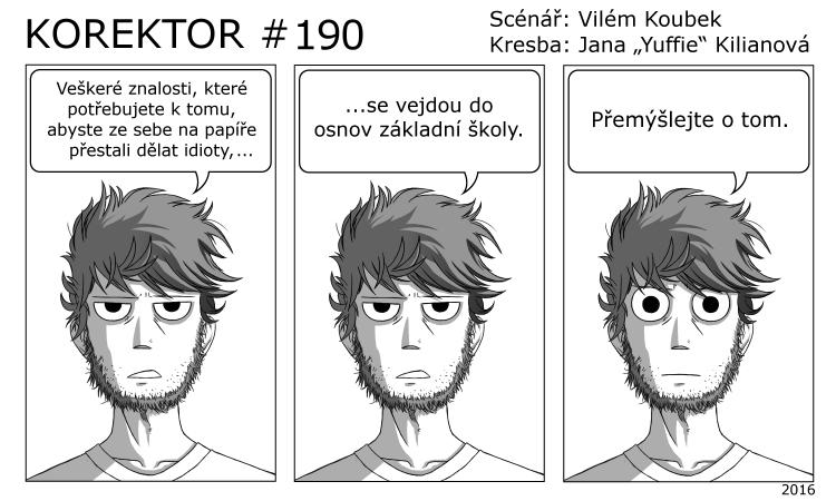 Korektor #190
